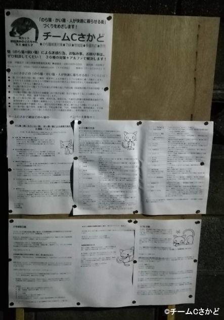 ミニミニ集会 資料 街の掲示板